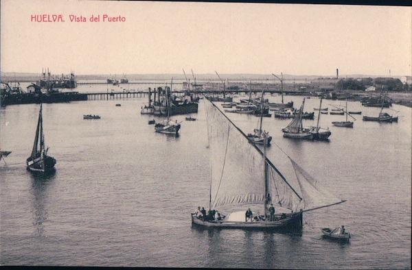 Resultado de imagen de puerto antiguo de huelva